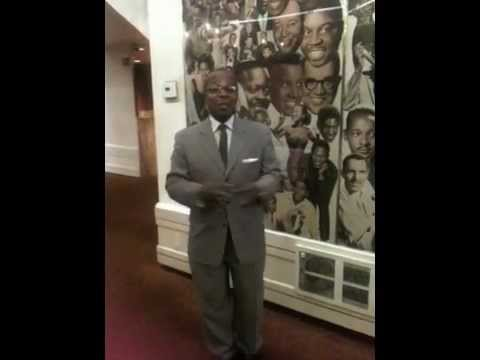Billy MItchel - tour guide at the Apollo Theatre, Harlem
