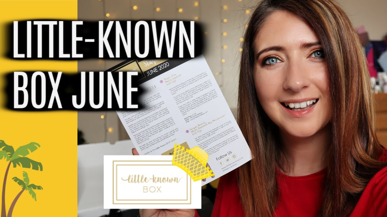 LITTLE KNOWN BOX CRUELTY FREE SUBSCRIPTION BOX UNBOXING | WILLOW BIGGS