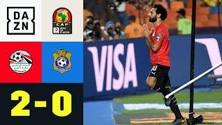 Mohamed Salah trifft zum Sieg: Ägypten - Kongo 2:0 | Afrika-Cup |Highlights | DAZN
