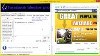 How To Use FBP Facebook Blaster Pro. Facebook Blaster Lead Generator Tutorial