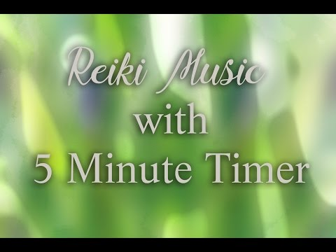 Reiki Timer with Music, Windchimes , Nature Sounds and Wooden Flute - 12 x 5 minute bells