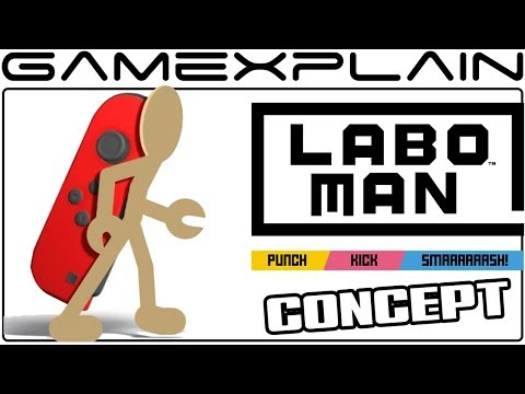 How Laboman Could Work in Super Smash Bros Switch Fan Animation + Brief Interview w Creator