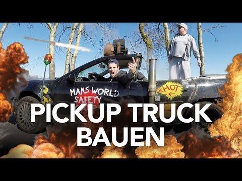 Pickup Truck bauen - Heimwerkerking Fynn Kliemann