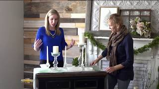 Antique Green Glass and Milk Glass Tutorial w/ Studio 7