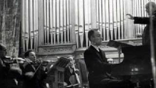 Sviatoslav Richter plays Brahms Concerto No. 2 in B-flat major, Op. 83 (1/5)