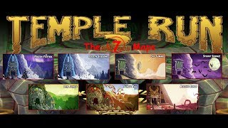Temple Run 2 ALL 7 Maps | Fast Gameplay trailer (2018)