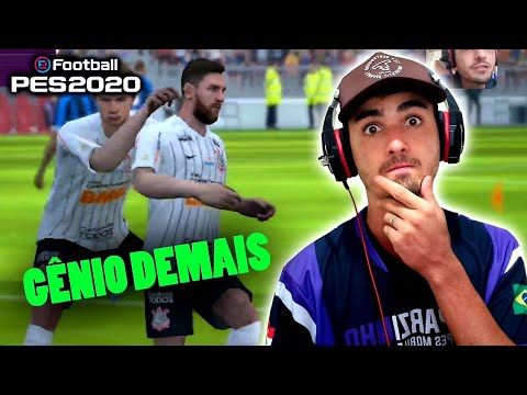 DESAFIO 3 ON-LINE- SHOW DE MESSI- COMPREI O TÉCNICO THIAGO NUNES- PES 2020 MOBILE - 동영상