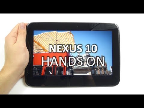 Hands-On: Google Nexus 10 | SwagTab