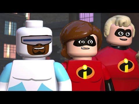 The Incredibles Walkthrough Finale - Chapter 12 The Final Showdown - All Minikits (100% Guide)