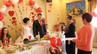 Свадьба Николая и Екатерины, поздравления от бабушек