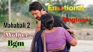 The villain movie emotional bgm ringtone //  mother bgm mahabali 2 kannad movie