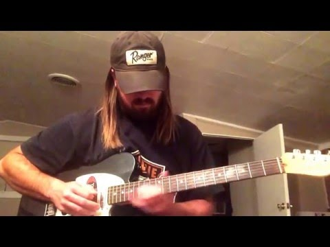 How To Play The Intro To Amarillo By Morning On Guitar