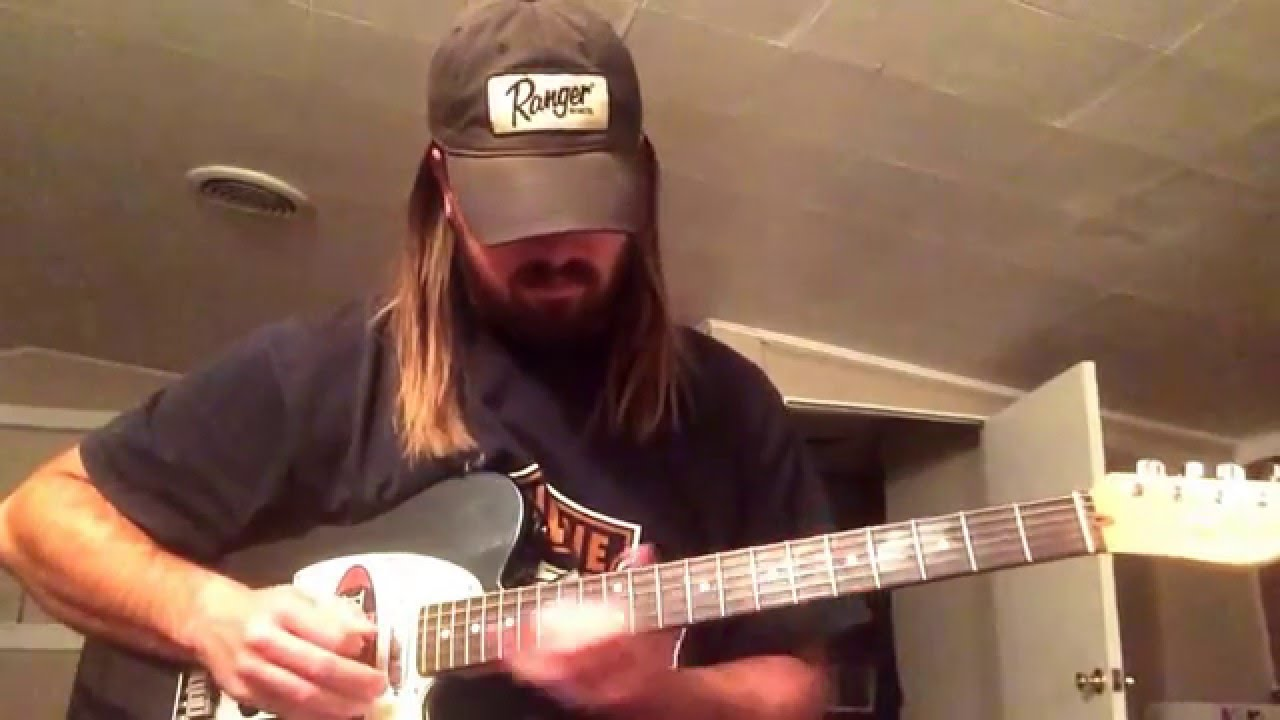 How To Play The Intro To Amarillo By Morning On Guitar Youtube