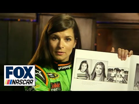 NASCAR drivers and their yearbook pictures
