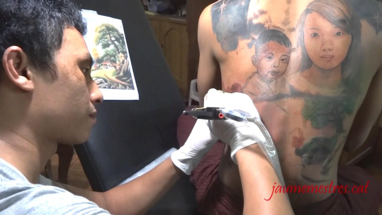 Myanmar Tattoo