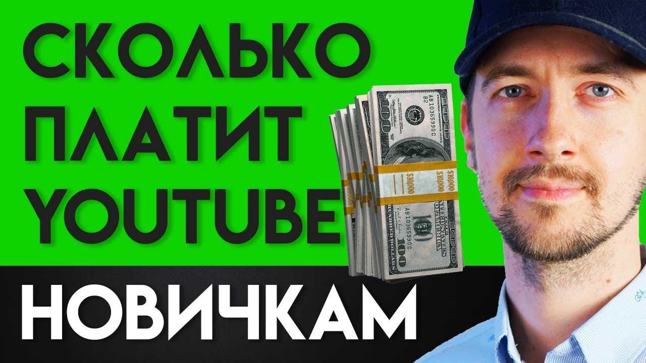 Сколько платит Ютуб за просмотры и как заработать деньги на Ютубе начинающему блогеру.