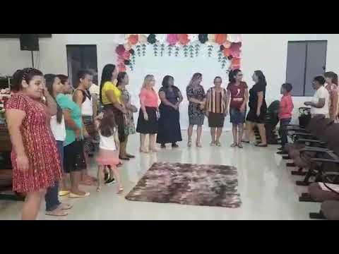 Confraternização  das irmãs  na AD Cacoal(5)