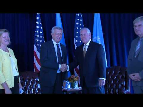 Secretary Tillerson Meets with UN High Commissioner Refugees