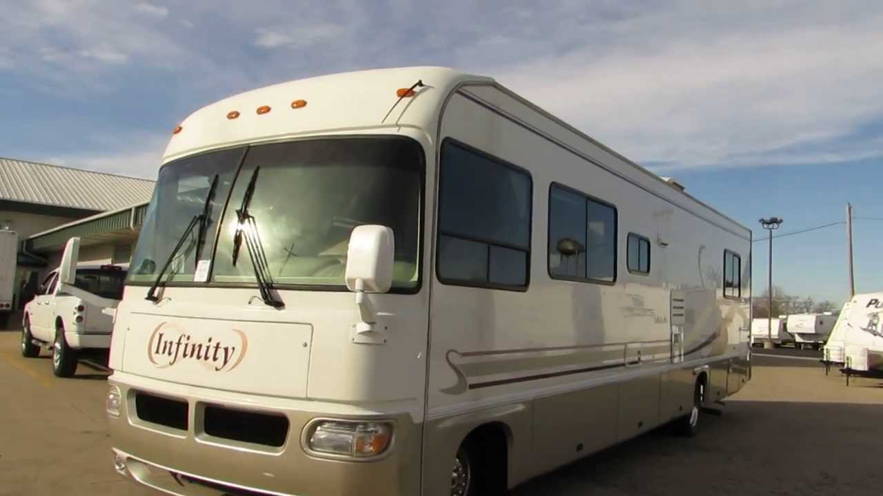 Nice Clean 34 1999 Fourwinds Infinity 34H Chevrolet 454