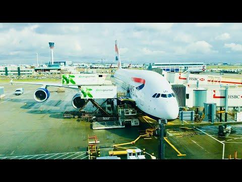 TRIP REPORT | British Airways (Economy) | Airbus A380 | London Heathrow - Los Angeles |