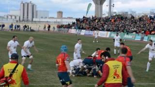 Partido rugby España-Georgia