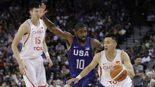 China @ USA July 26 2016 Olympic Basketball Exhibition FULL GAME HD 720p English