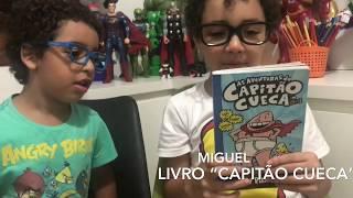 Miguel contando sobre seu segundo livro