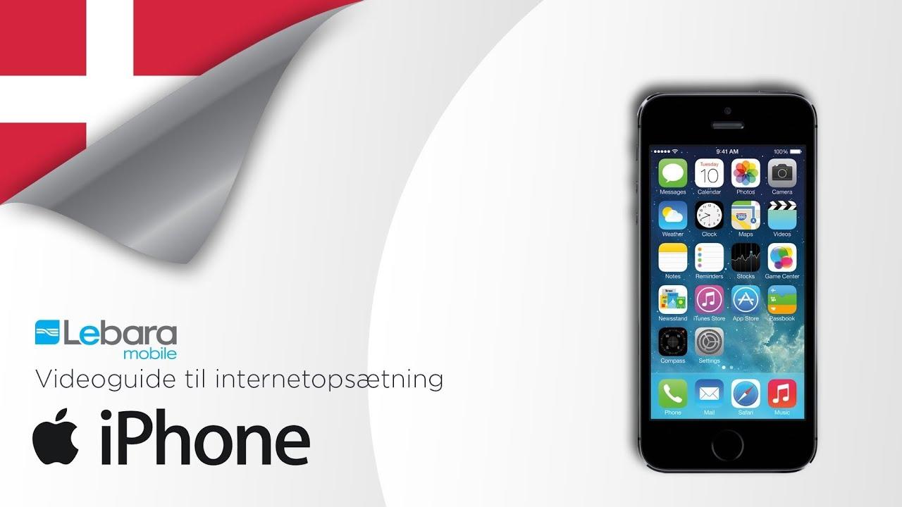 Lebara Mobile - Datasettings