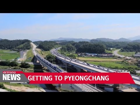 Reaching sports destination for 2018 PyeongChang Winter Olympics