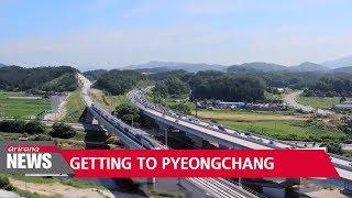 Reaching sports destination for 2018 PyeongChang Winter Olympics