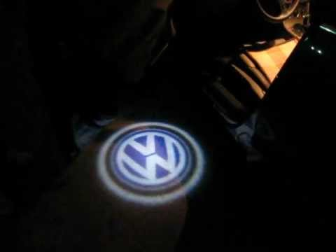 Led Door Courtesy Light With Audi Volkswagen Bmw Logo