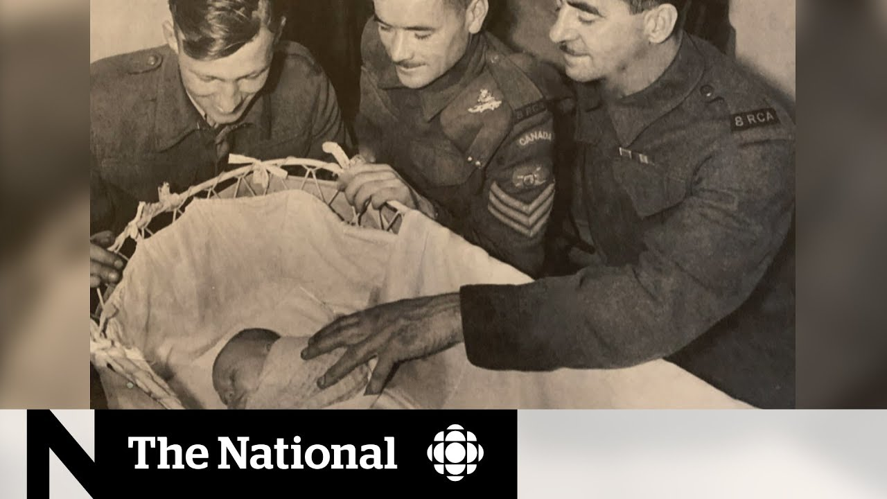 WWII 'miracle' baby, saved by Canadian soldiers, makes long-lost connections