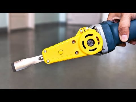 5 Amazing Angle Grinder Attachments !!!