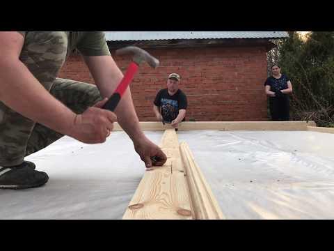 How we built garden house