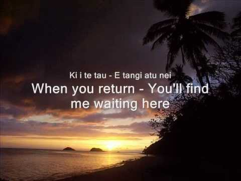 Now Is The Hour (Maori Farewell Song)