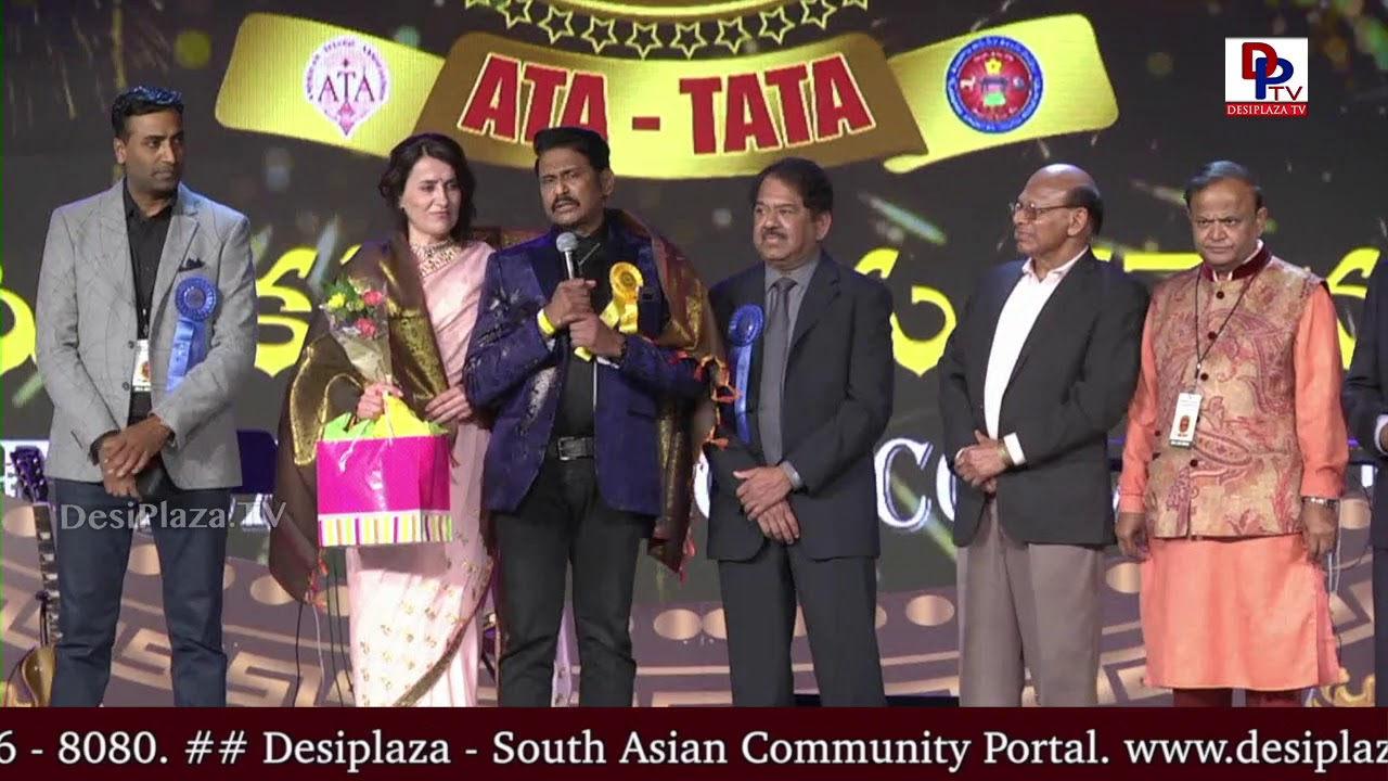 Harinath Policherla felicitated at American Telugu Convention in Dallas - Day 3 | DesiplazaTV