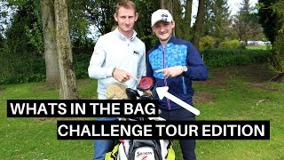 WHATS IN THE BAG - CHALLENGE TOUR EDITION