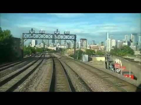 Metra Union Pacific West Cab Ride 6-30-16