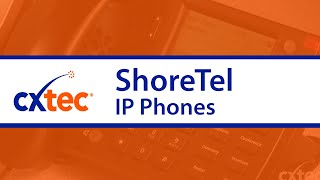 ShoreTel IP Phones Testing - CXtec tec Tips