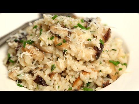 Mushroom Risotto | Rice Recipes - Italian Cuisine | Ruchi's Kitchen