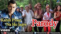 Salman Khan & Family play Antakshari Parody (Kahin Pyaar Na Ho jaye)