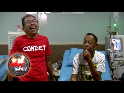 Jalani Cuci Darah, Eko DJ Dijenguk Para Sahabat - Hot Shot 06 November 2016