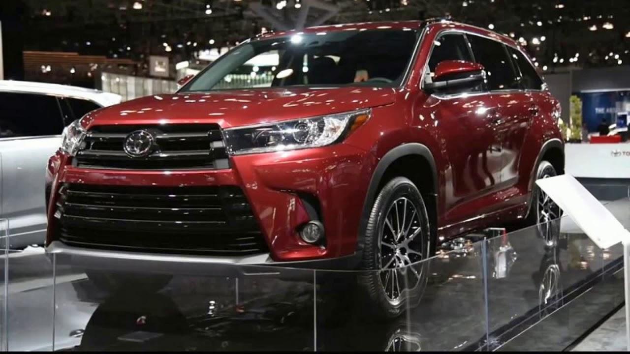 2019 Toyota Highlander Concept Hybrid Rumors Release Date Redesign