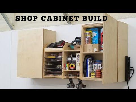 DIY Shop Cabinet Build (Workshop Project)