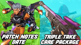 Apex Legends Patch Notes Release Date! Triple Take in Care Package? Apex Mobile & Map Changes!