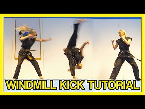 How to Windmill Kick | Kick Chick Tutorial