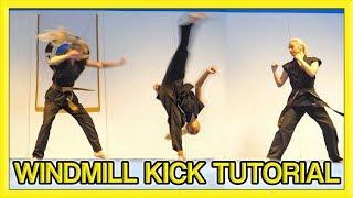 How to Windmill Kick | Kick Chick Tutorial