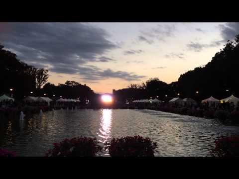 夕暮れの上野公園でジャズ聴いた①