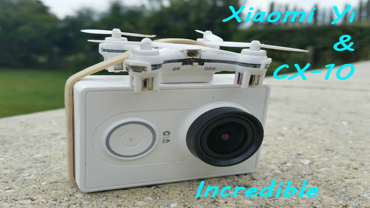 CX10 Nano Drone And Gopro Camera