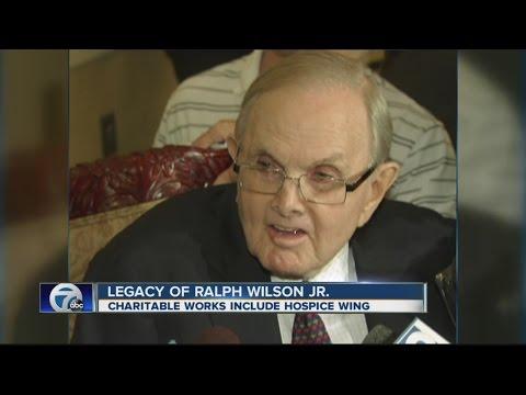 The charitable legacy of Ralph Wilson Jr.